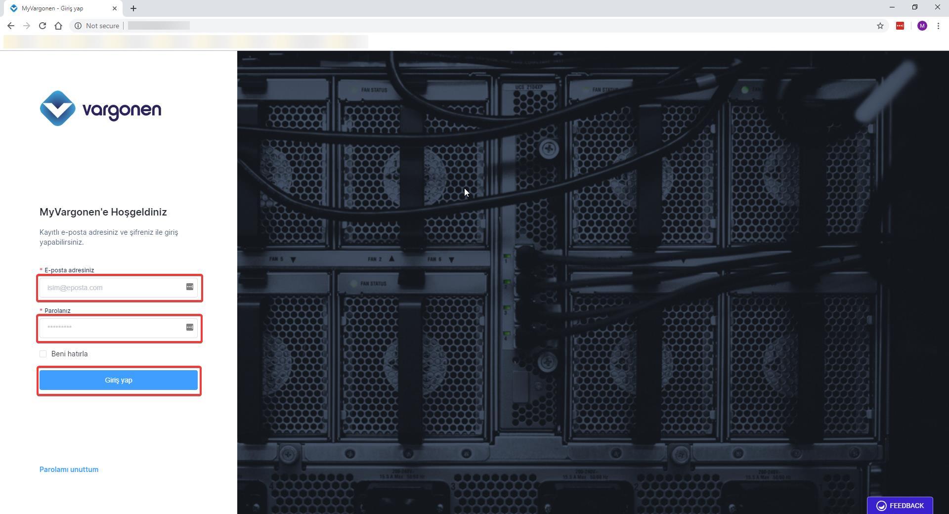 name server değişikliği